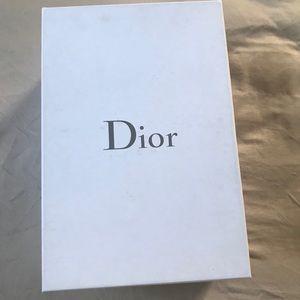 Authentic Dior shoes box & dust bag